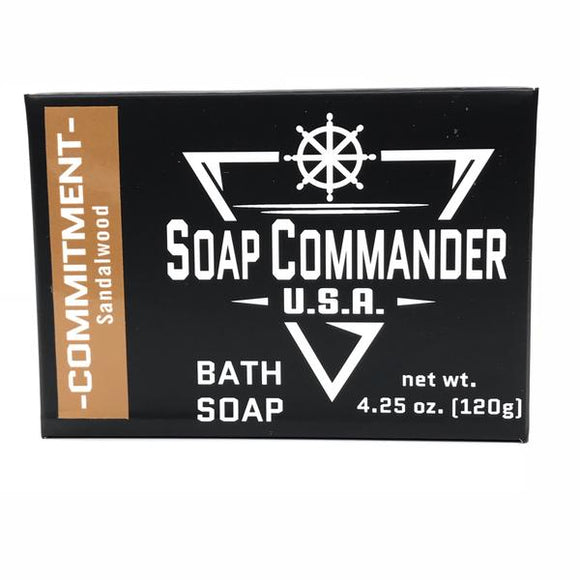 Soap Commander - Bath Soap - Commitment