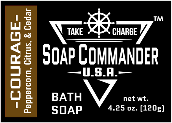 Soap Commander - Bath Soap - Courage