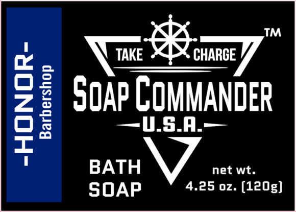 Soap Commander - Bath Soap - Honor