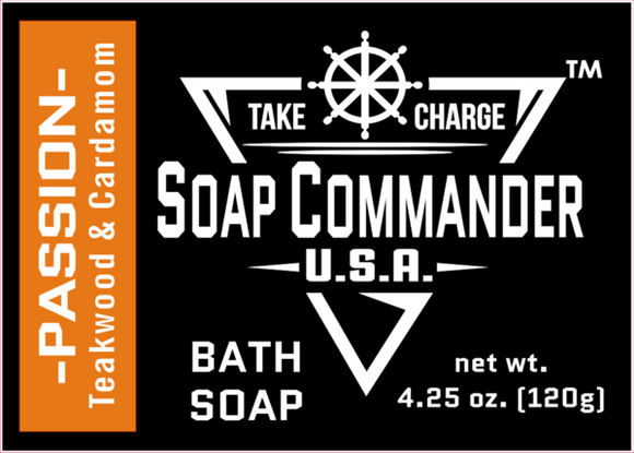 Soap Commander - Bath Soap - Passion