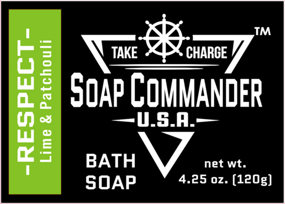 Soap Commander - Bath Soap - Respect