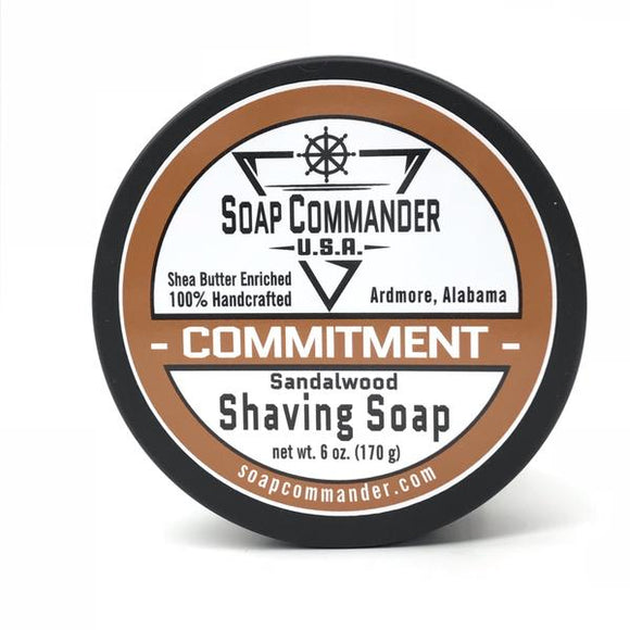 Soap Commander - Shaving Soap - Commitment