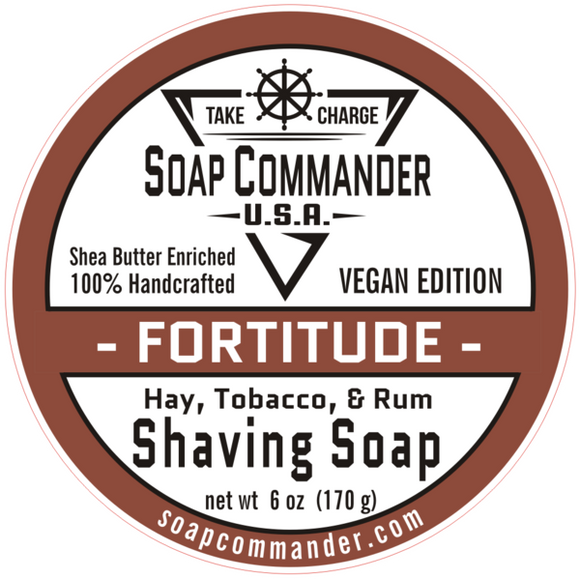 Soap Commander - Shaving Soap - Fortitude