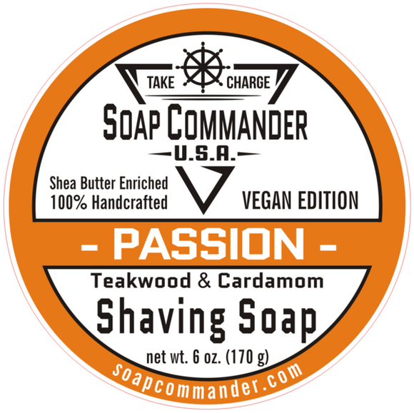 Soap Commander - Shaving Soap - Passion