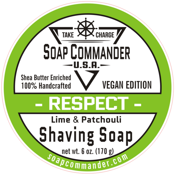 Soap Commander - Shaving Soap - Respect