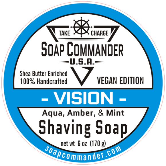 Soap Commander - Shaving Soap - Vision