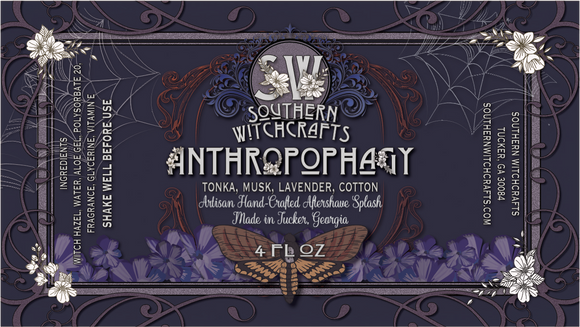 Southern Witchcrafts Aftershave Splash - Anthropophagy