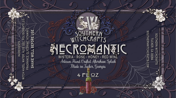 Southern Witchcrafts Aftershave Splash - Necromantic