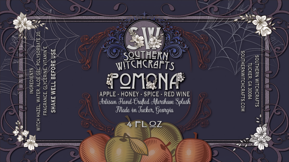 Southern Witchcrafts Aftershave Splash - Pomona