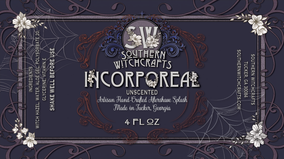 Southern Witchcrafts - Unscented Aftershave Splash - Incorporeal
