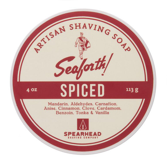 Spearhead Shaving Company - Seaforth - Spiced Shaving Soap