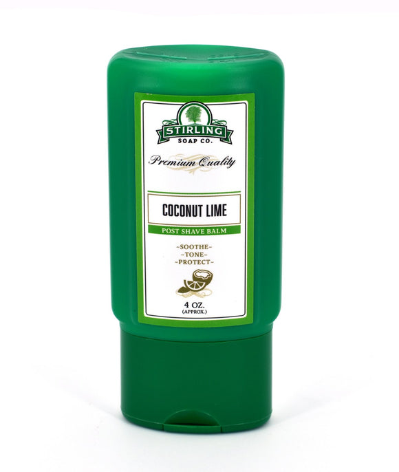 Stirling Soap Company - Post-Shave Balm -Coconut Lime