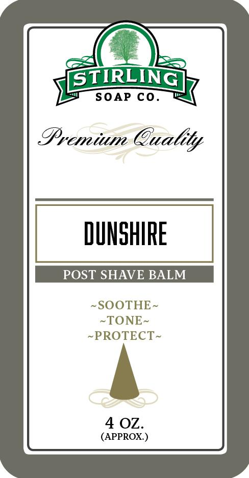 Stirling Soap Company - Post-Shave Balm - Dunshire
