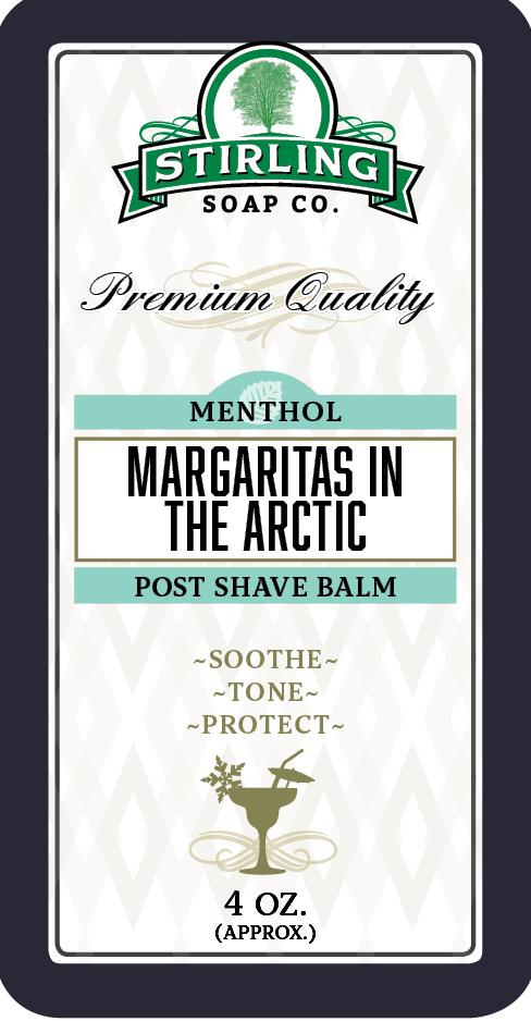 Stirling Soap Company - Post-Shave Balm - Margaritas in the Arctic