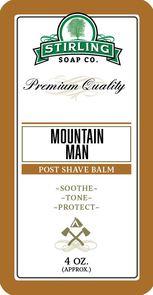 Stirling Soap Company - Post-Shave Balm - Mountain Man
