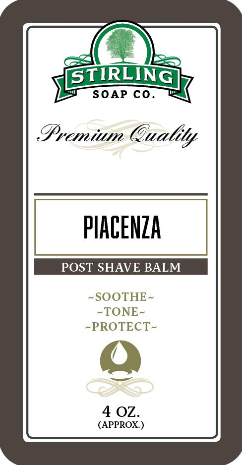Stirling Soap Company - Post-Shave Balm - Piacenza