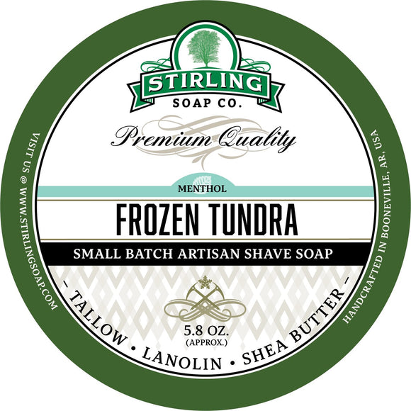 Stirling Soap Company - Shave Soap - Frozen Tundra