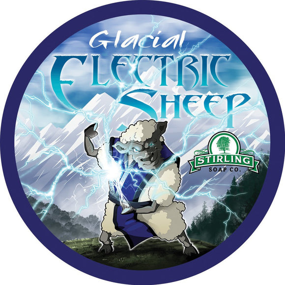 Stirling Soap Company - Shave Soap - Glacial Electric Sheep