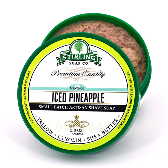 Stirling Soap Company - Shave Soap - Iced Pineapple