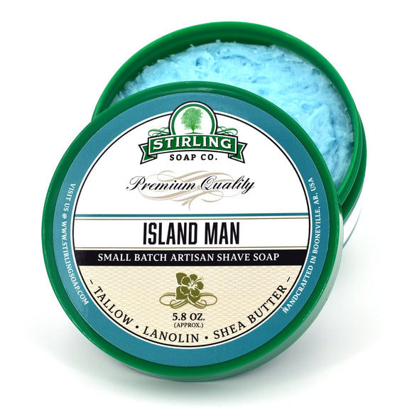 Stirling Soap Company - Shave Soap - Island Man