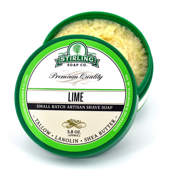 Stirling Soap Company - Shave Soap - Lime