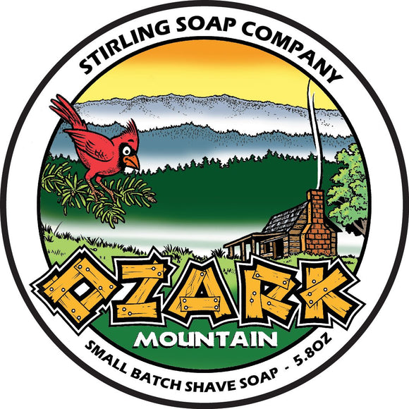 Stirling Soap Company - Shave Soap - Ozark Mountain