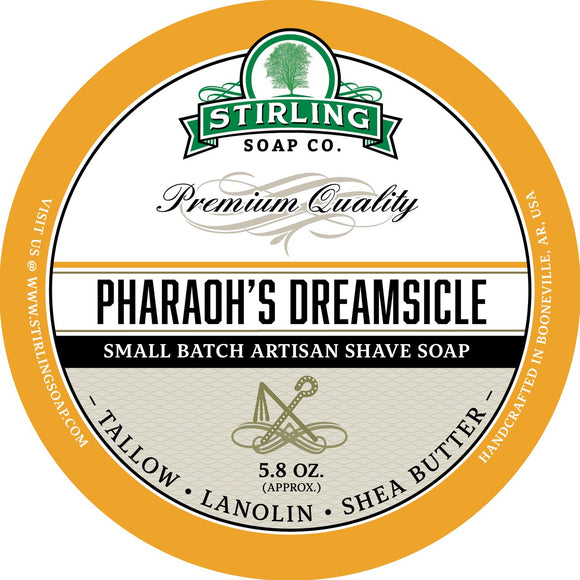 Stirling Soap Company - Shave Soap - Pharaoh's Dreamsicle