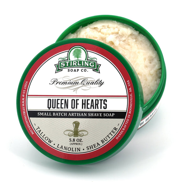 Stirling Soap Company - Shave Soap - Queen of Hearts
