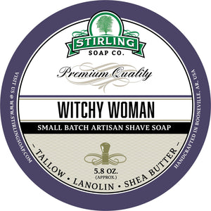 Stirling Soap Company - Shave Soap - Witchy Woman