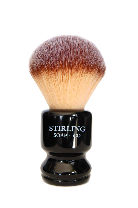 Stirling Soap Company - Synthetic Shaving Brush - Pro Handle - 26mm