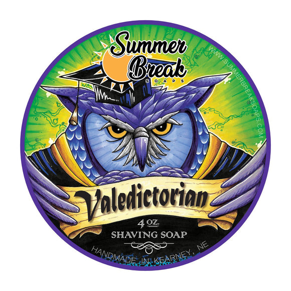 Summer Break Soaps - Shaving Soap - Valedictorian