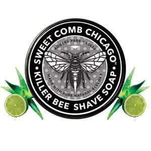 Sweet Comb Chicago - All Natural Shave Soap - Killer Bee