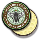 Sweet Comb Chicago All Natural Cool Beans Shave Soap