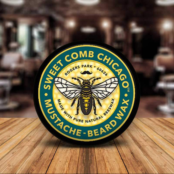 Sweet Comb Chicago All Natural Mustache & Beard Styling Wax
