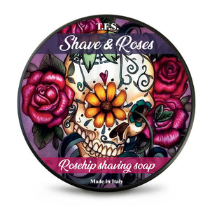 Tcheon Fung Sing  Shaving Soap - Shave and Roses