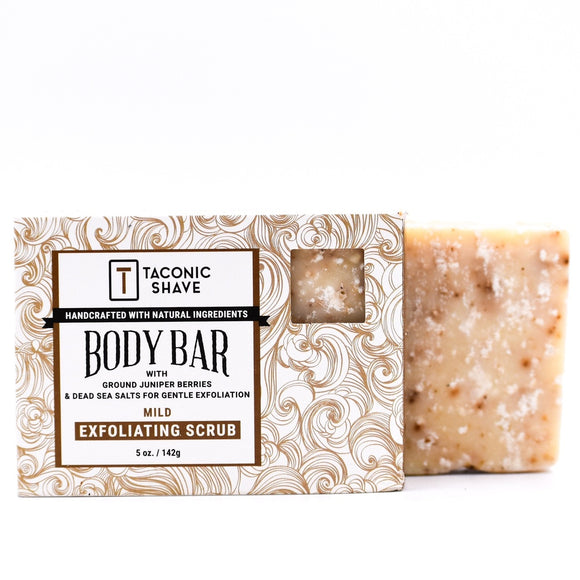 Taconic - All Natural Body Cleansing Bar - Exfoliating Scrub