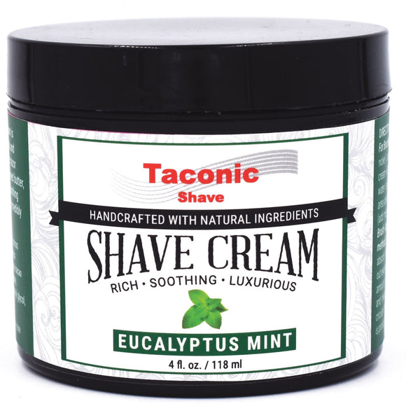 Taconic - Artisan Shave Cream - Eucalyptus And Mint