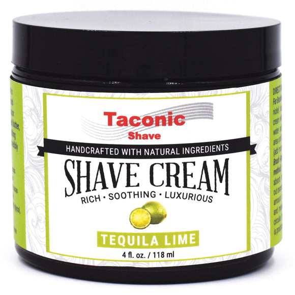 Taconic - Artisan Shave Cream - Tequila Lime