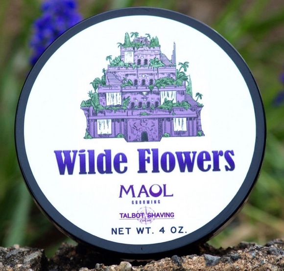 Talbot Shaving - Premium Shaving Soap - Wilde Flowers