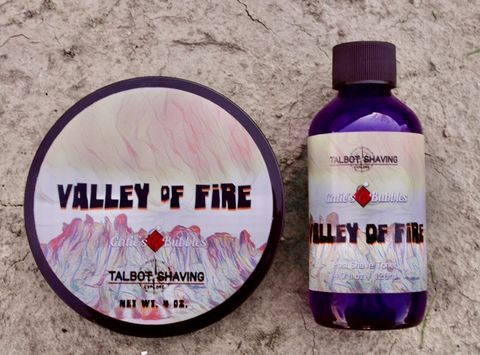 Talbot Shaving - Shaving Soap and Aftershave Set - Valley of Fire