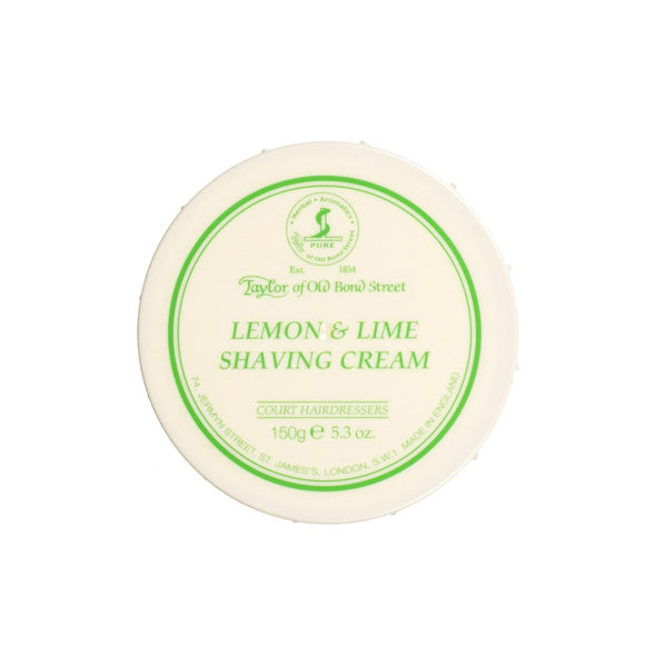 Taylor of Old Bond Street - Lemon Lime Shave Cream, 150g