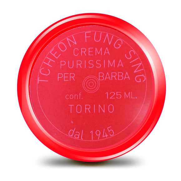 Tcheon Fung Sing TFS - RED - Shaving Soap.