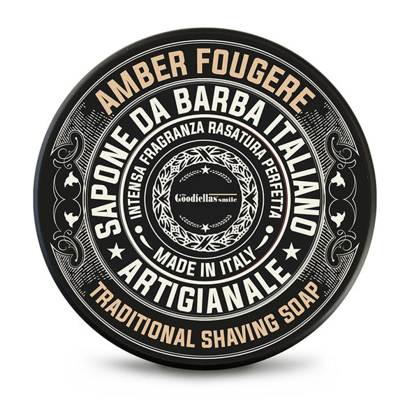 The GoodFellas Smile - Amber Fougere - Shaving Soap 100ml