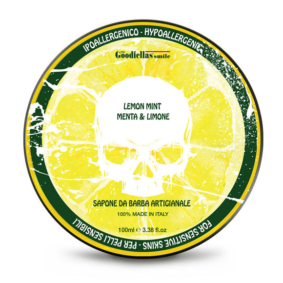 The GoodFellas Smile - Lemon Mint - Shaving Soap 100ml