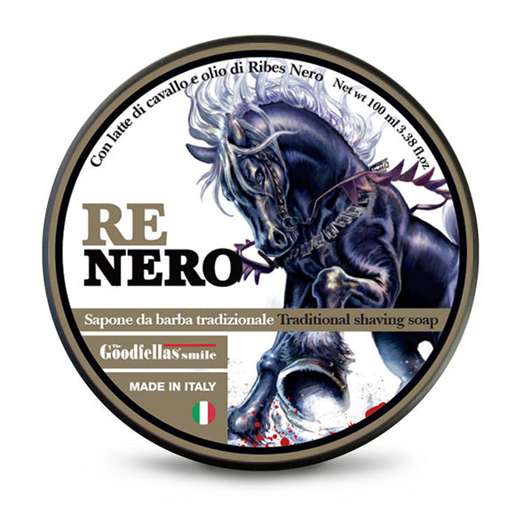 The GoodFellas Smile - Re Nero - Shaving Soap 100ml
