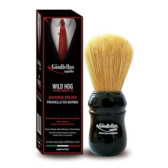 The GoodFellas Smile - Shave Brush  Pure Bristle 57 mm