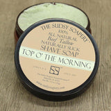The Sudsy Soapery - Tallow Shave Soap - Top O' The Morning
