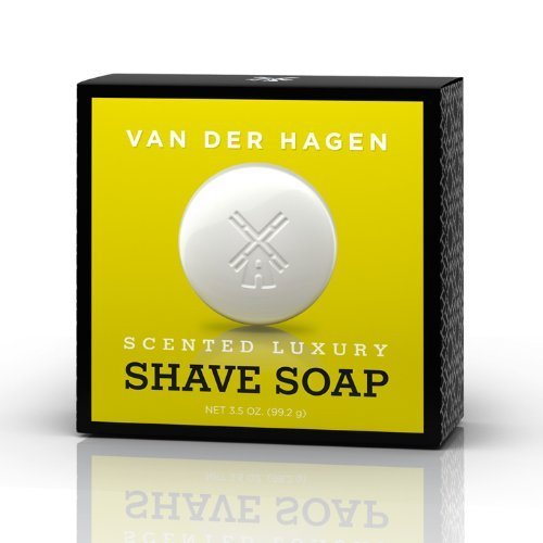 Van Der Hagen Scented Luxury Shave Soap 3.5 Oz