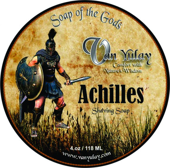 Van Yulay - Artisan Shaving Soap - Achilles