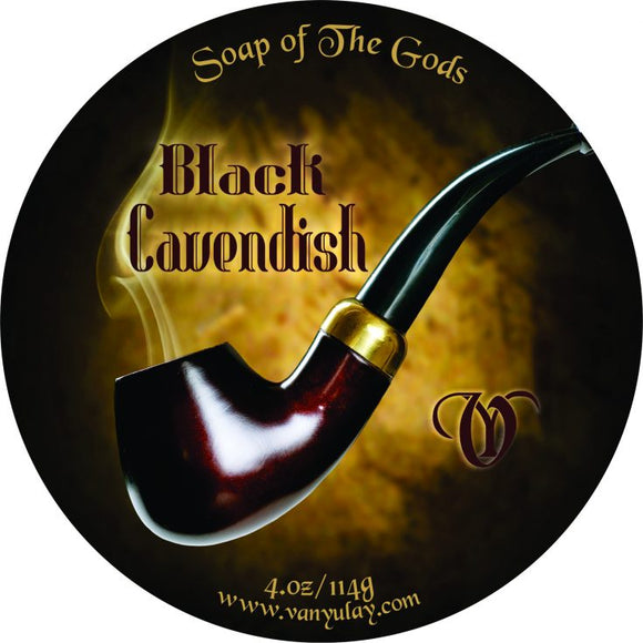 Van Yulay - Artisan Shaving Soap - Black Cavendish